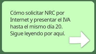 Cómo pagar tus impuestos en el banco, solicita NRC