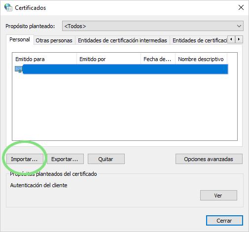Instalar en otro ordenador: opciones de Internet