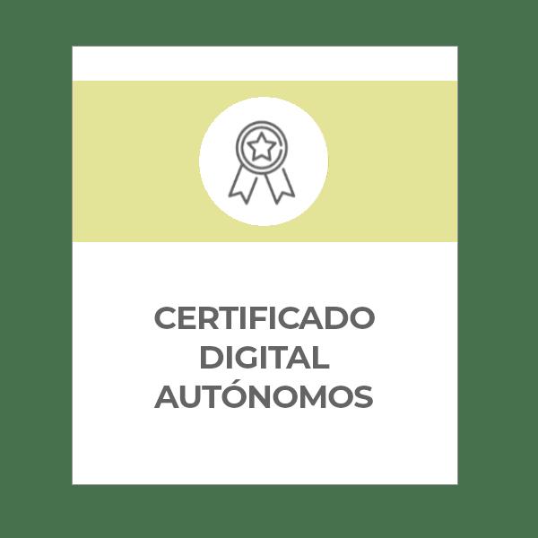 certificado digital para autónomos